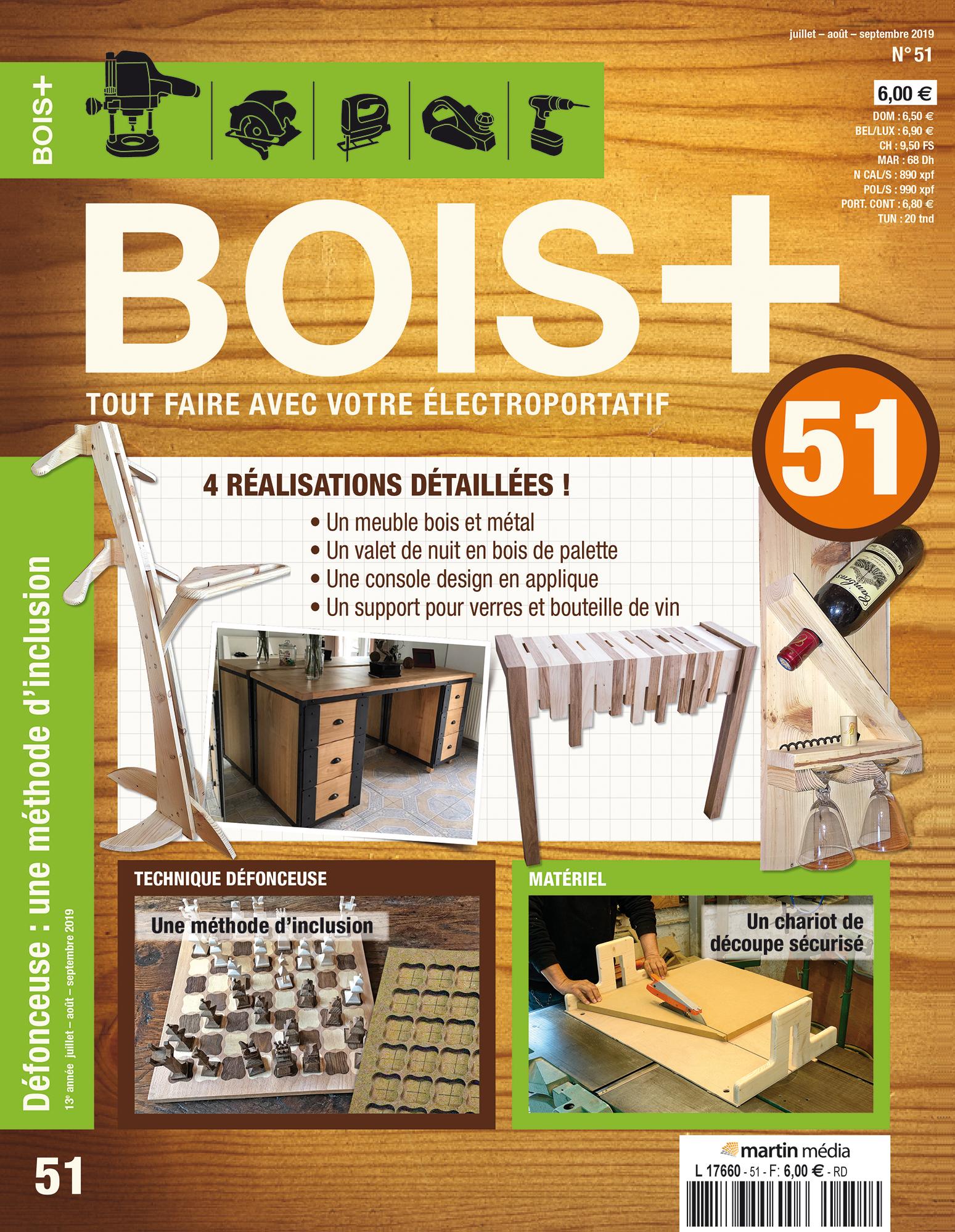 Fabriquer Valet De Chambre boutique blb-bois - bois + n°51 - juillet 2019