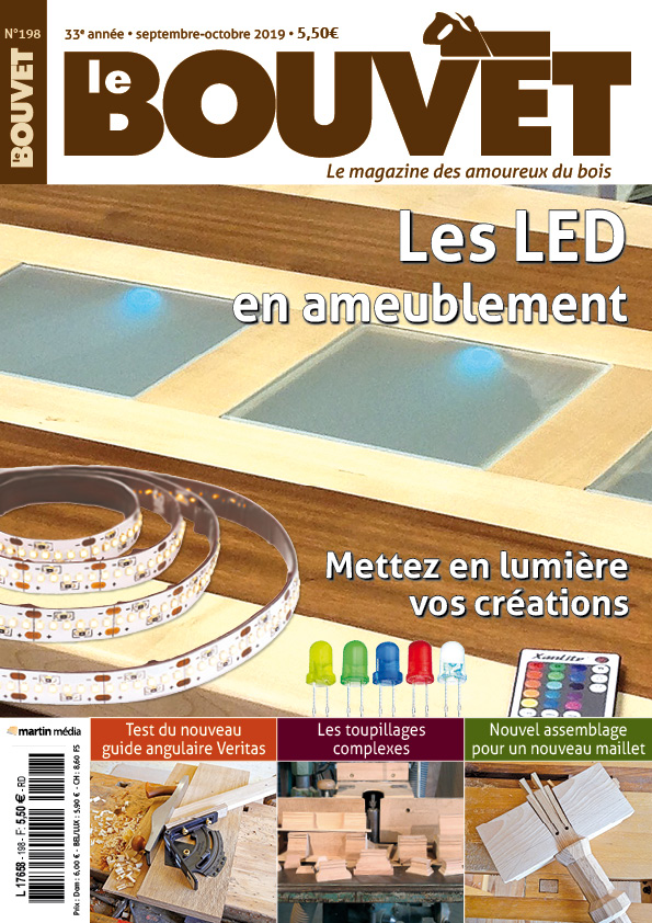 LE BOUVET N°198 (septembre 2019) Les LED en ameublement